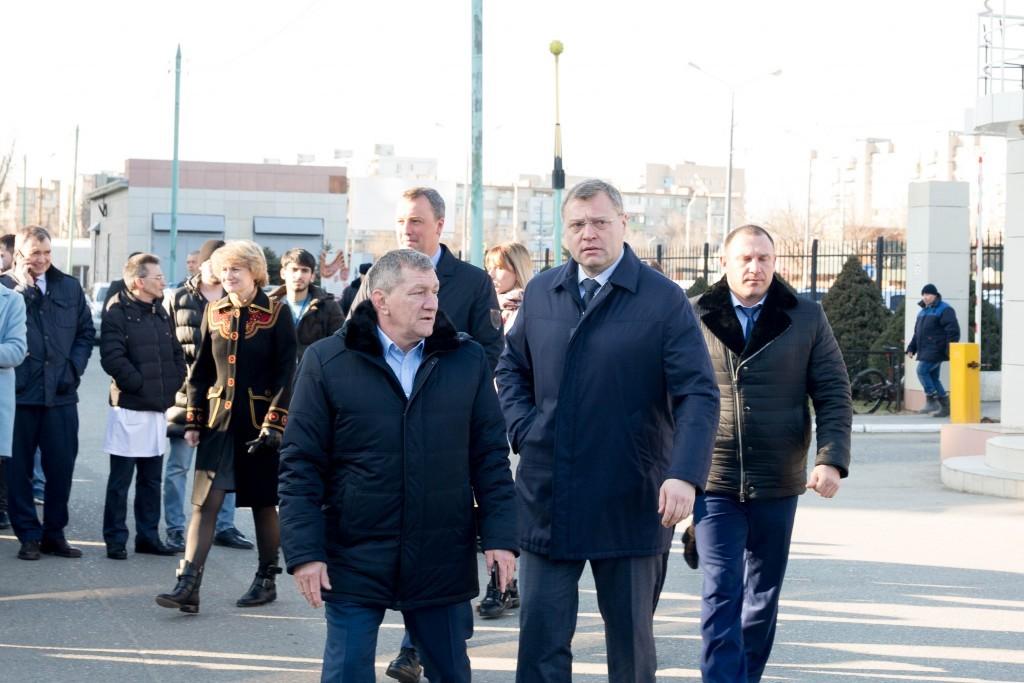 Губернатор Астраханской области Игорь Бабушкин дал старт акции «Поезд здоровья 2020»
