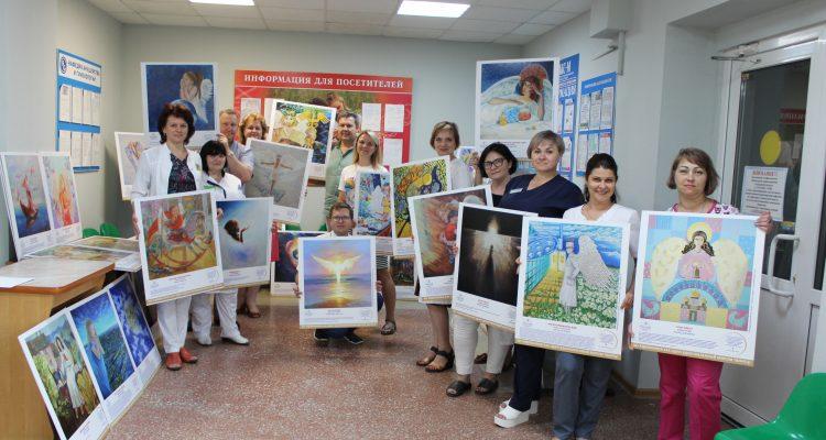 Ангелы со всего мира поселились в перинатальном центре Александро-Мариинской больницы